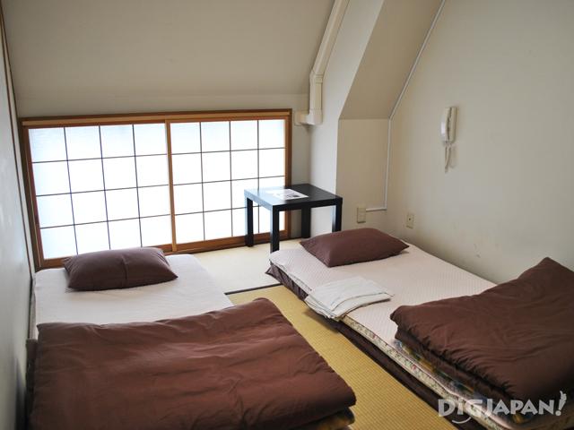 東京隅田川ユースホステル 二人部屋