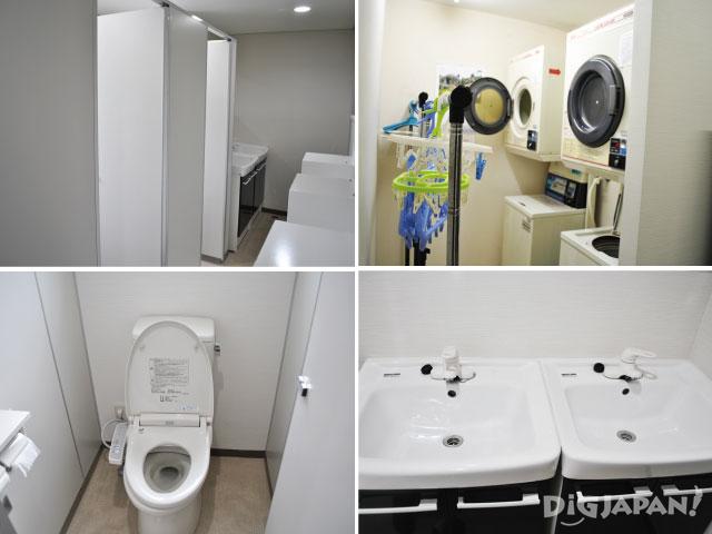 東京隅田川ユースホステル トイレ