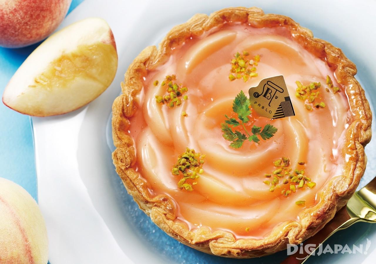 PABLO 파블로 치즈타르트 복숭아 레몬