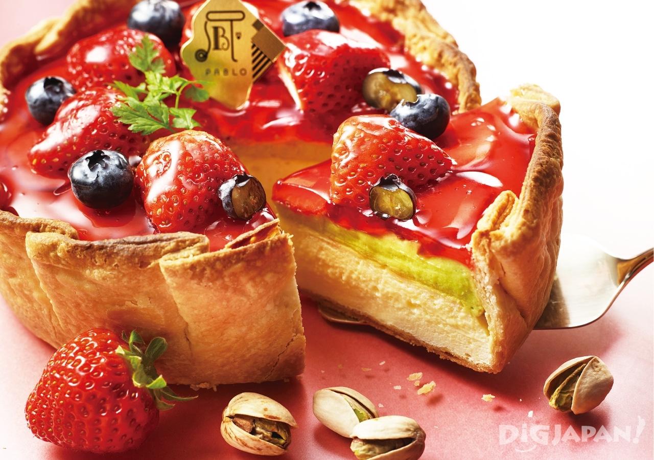 PABLO 파블로 치즈타르트 딸기 피스타치오