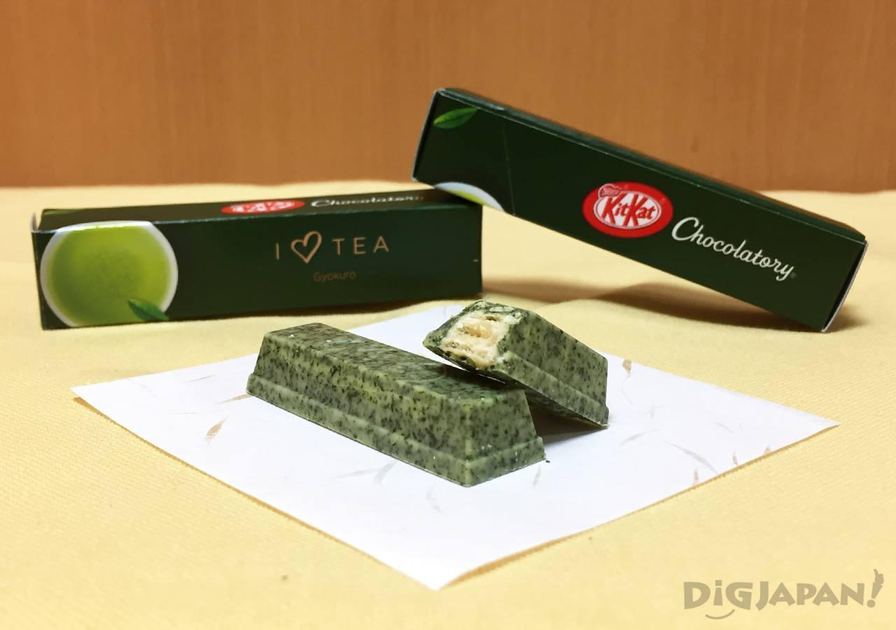 KIT KAT Chocolatory gyokuro green tea