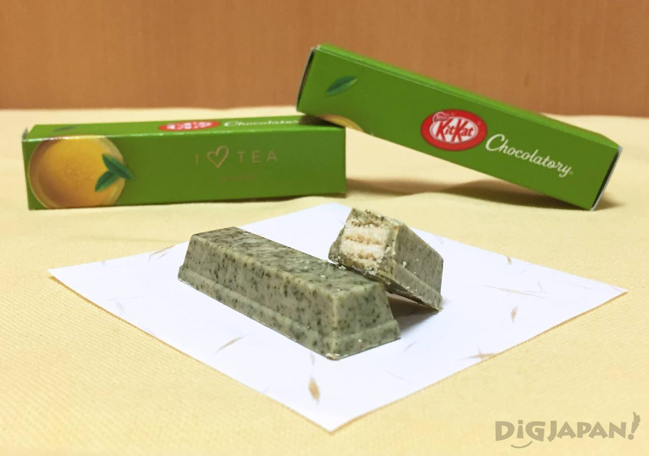 KIT KAT Chocolatory genmaicha