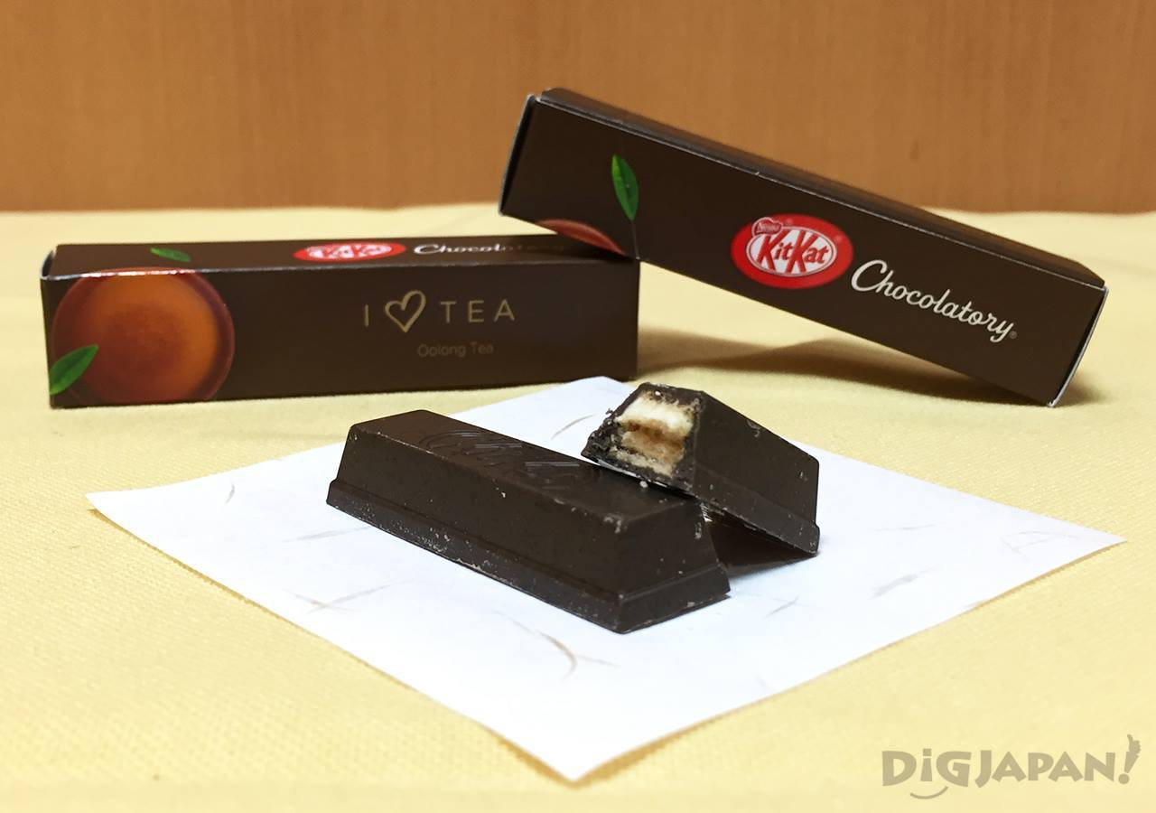 KIT KAT Chocolatory oolong tea