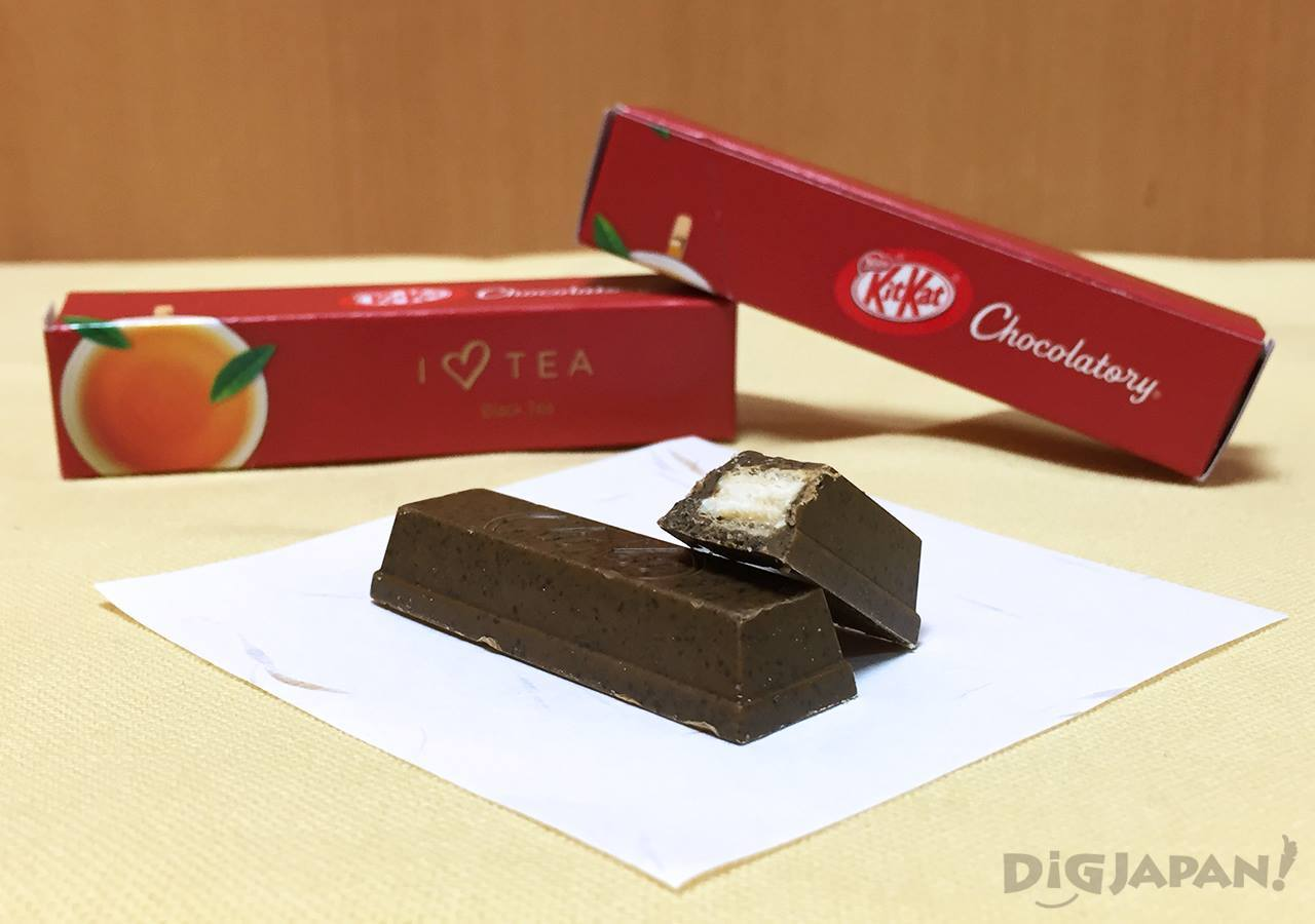 KIT KAT Chocolatory black tea kocha