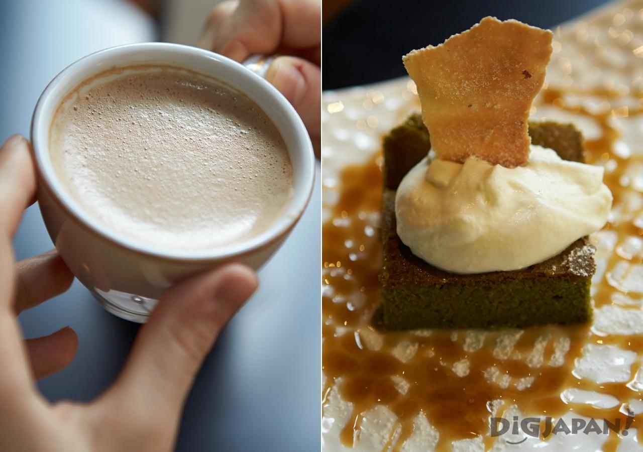도쿄 네즈 야네센 가야바커피 커피 케이크