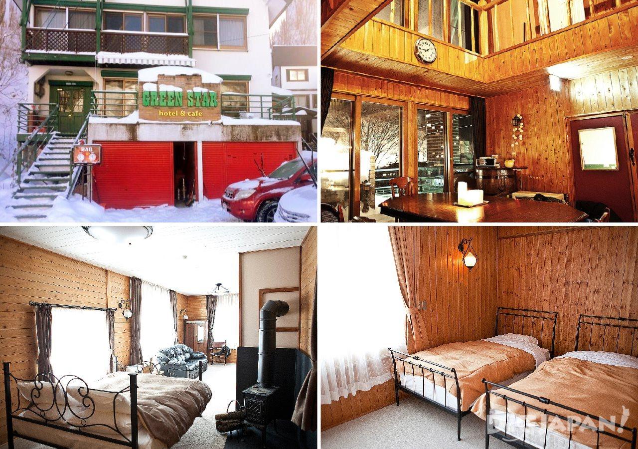 hotel & cafe GREEN STAR_外観・内観