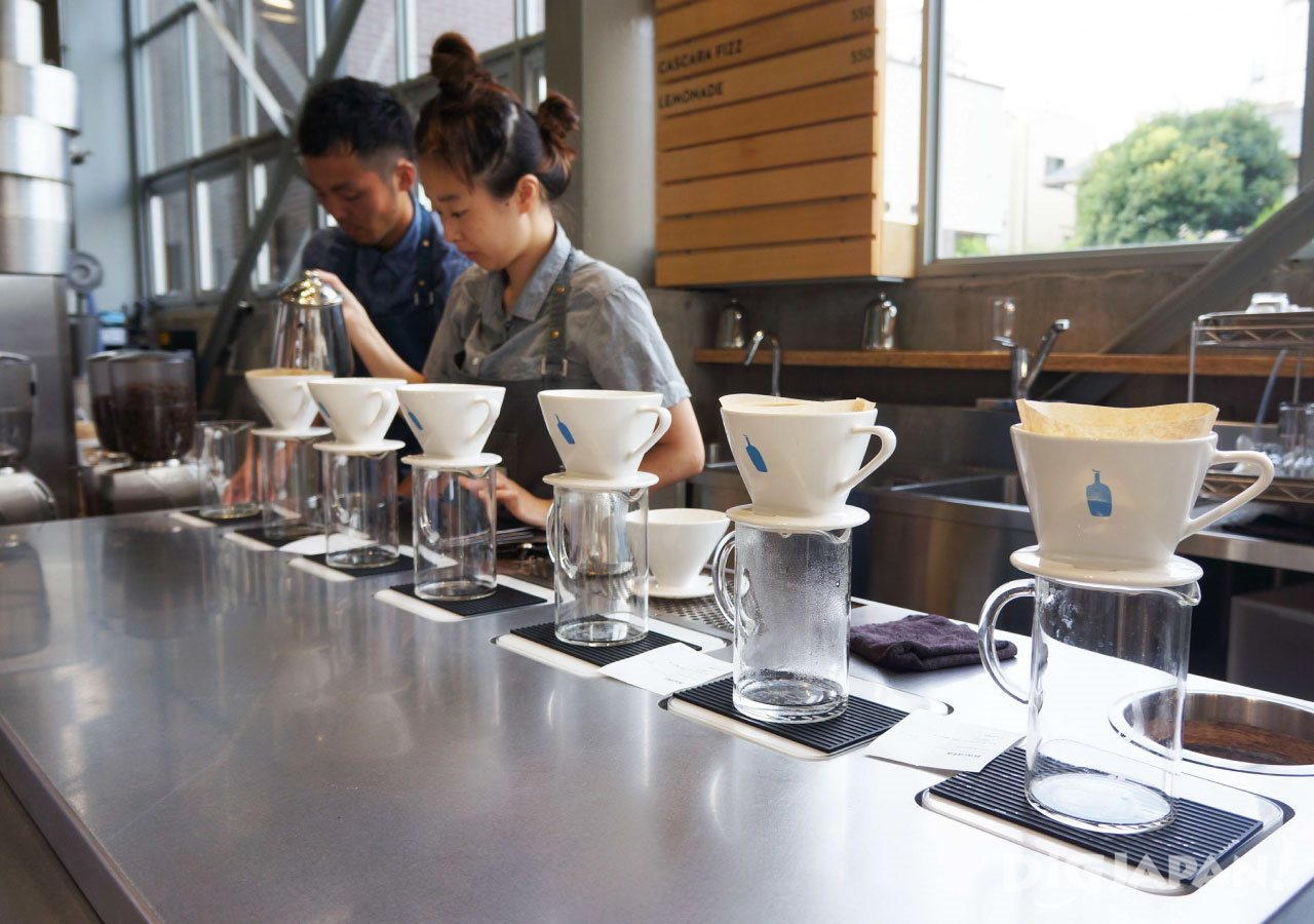 BLUE BOTTLE COFFEE_店内