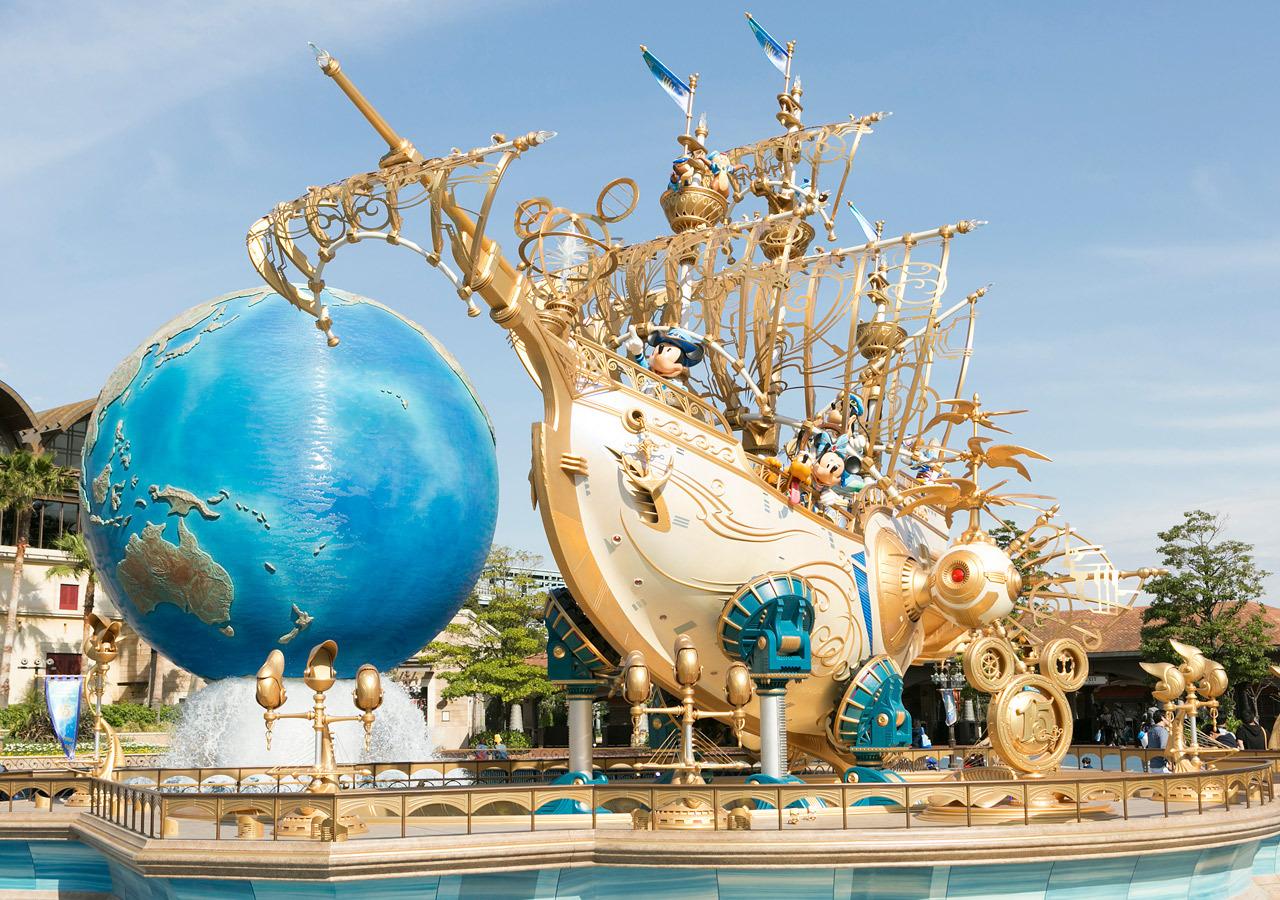 東京迪士尼海洋15週年慶_14