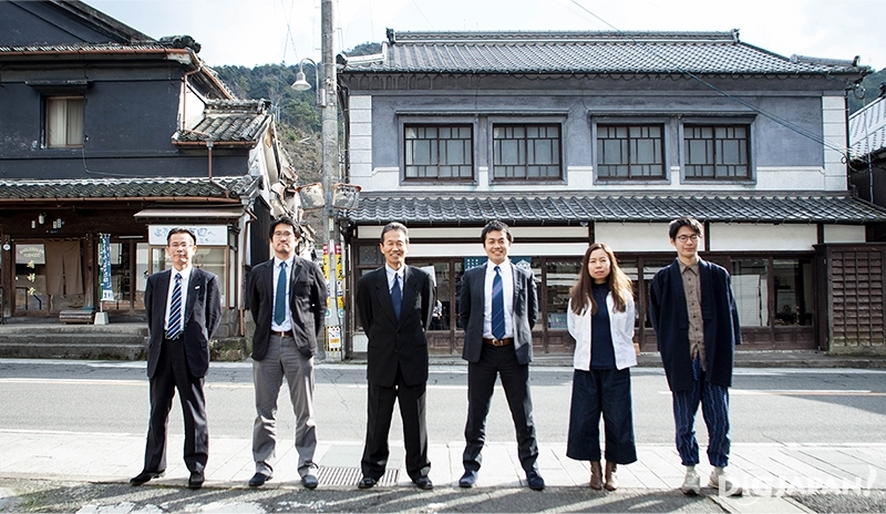 67歳から24歳まで多様な人材で構成される有田まちづくり公社