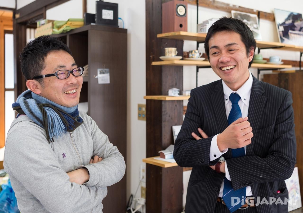 有田町地域おこし協力隊の佐々木さんとは連携してイベントなどを企画運営している