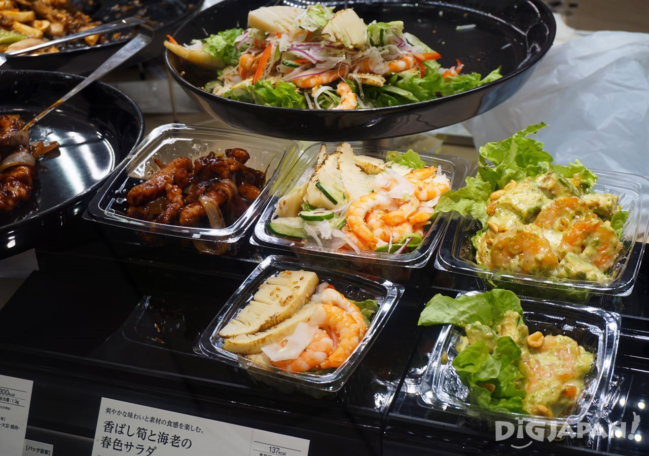 Depachika shopping pre-made meals