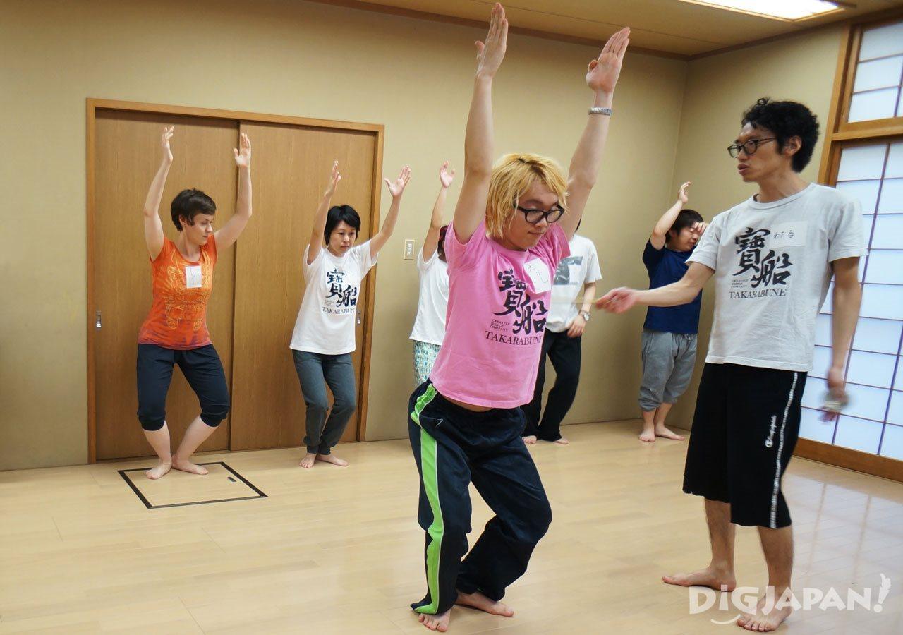 Awa Odori practice