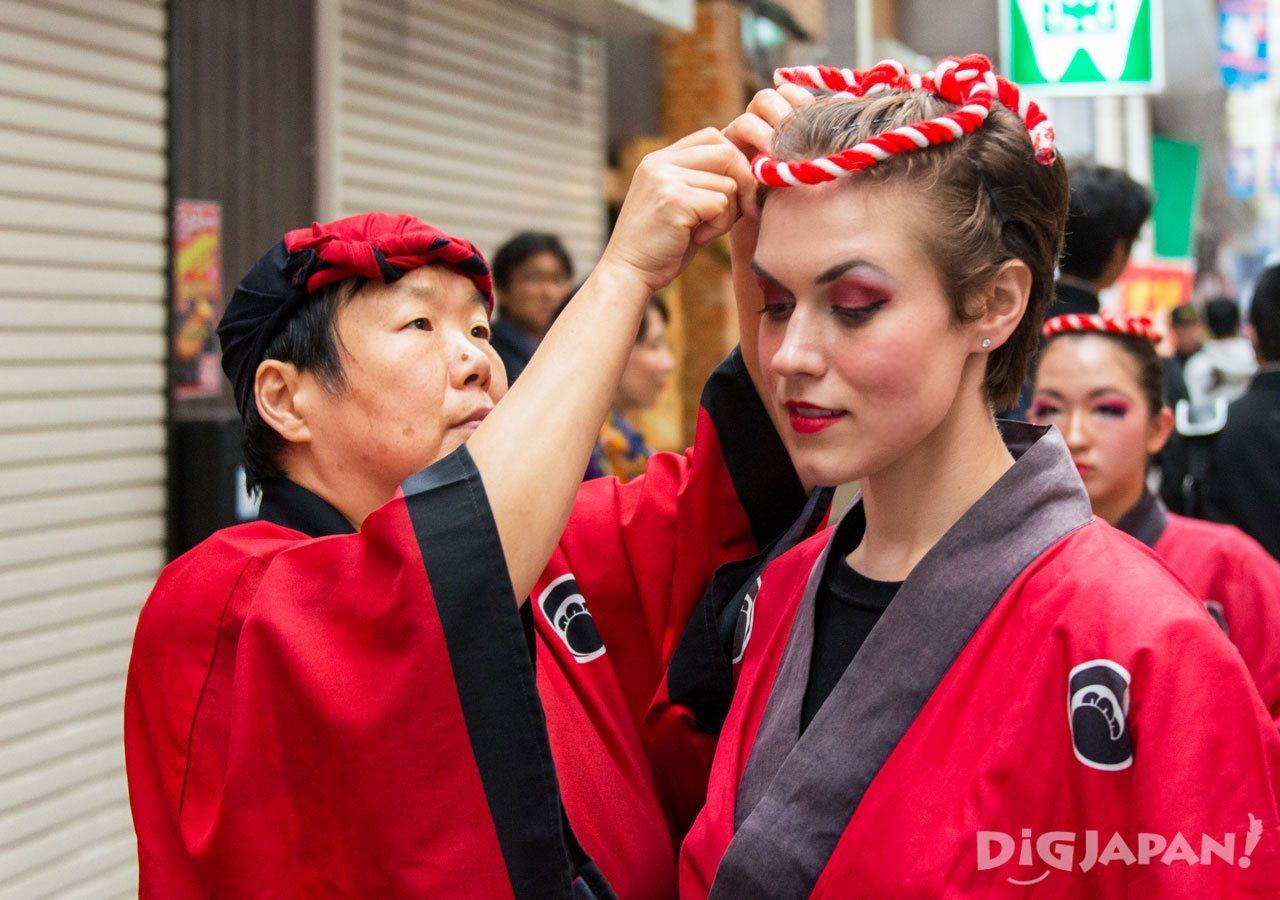 Awa Odori costume
