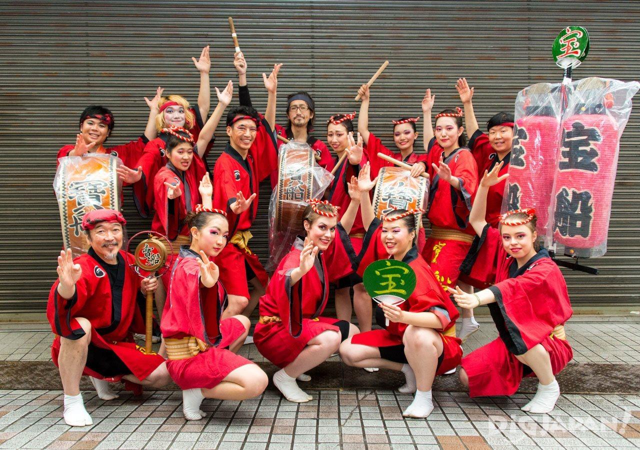 Awa Odori Takarabune dance festival Tokyo
