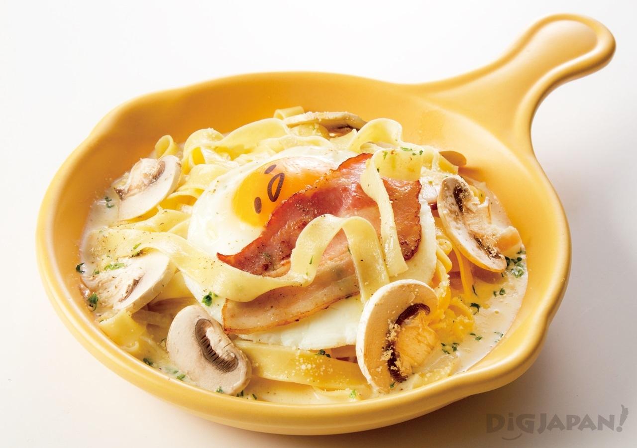 Gudetama Cafe Osaka food 2