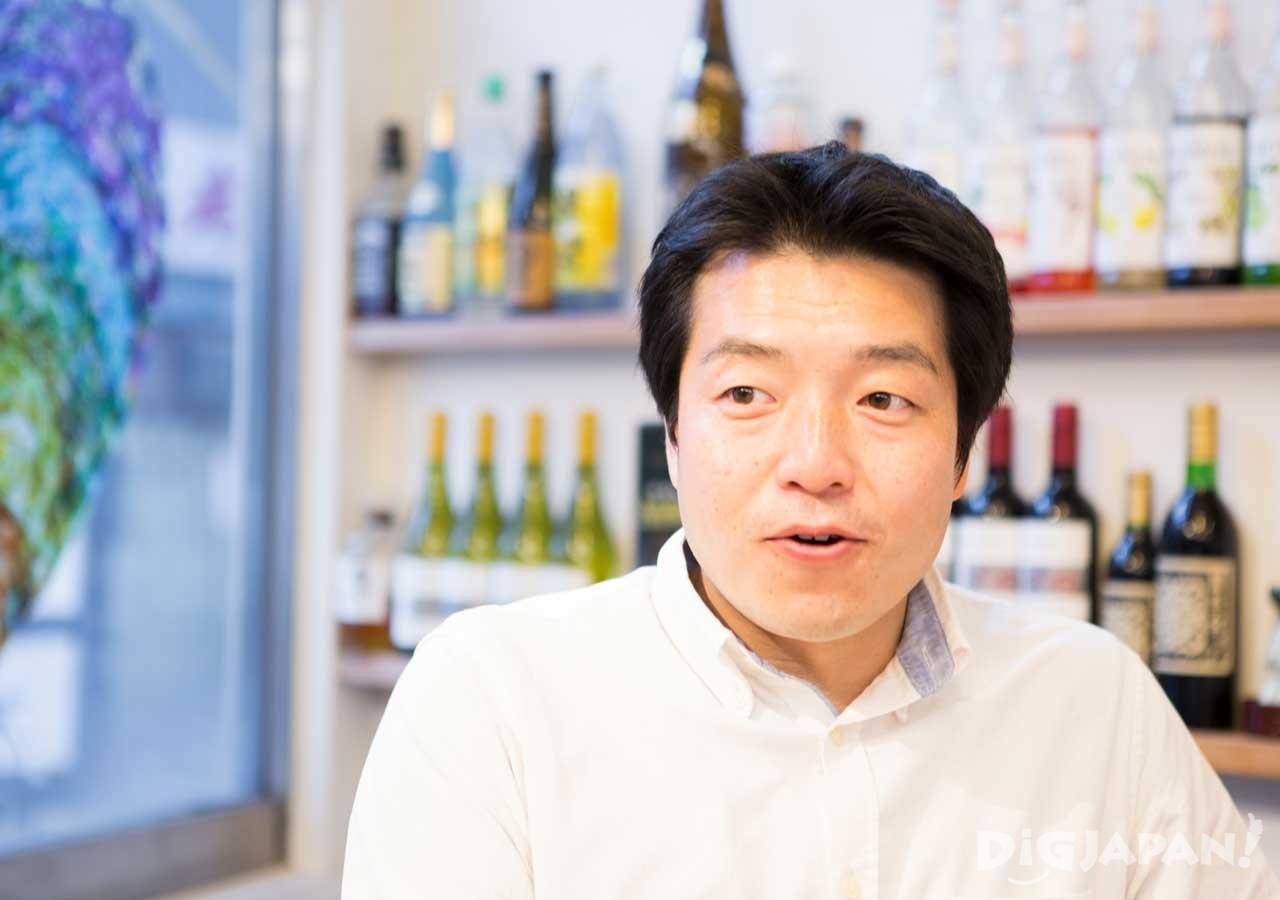 西アサヒのオーナーで名古屋を熱く盛り上げる仕掛け人 田尾さん