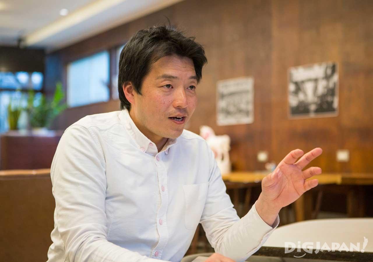 2004年頃からインバウンドの仕事を手掛けていた田尾さん