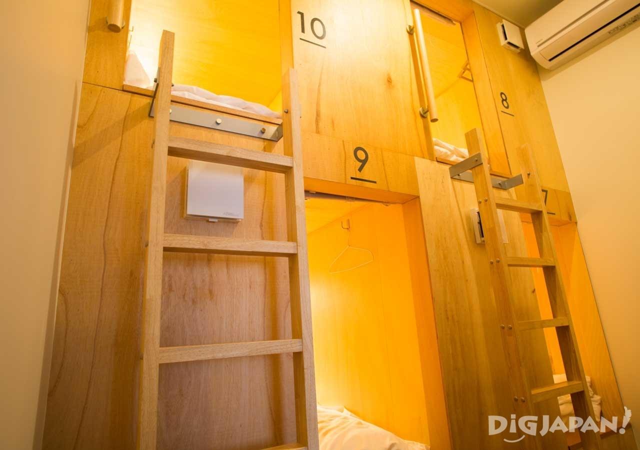 4ベッドのドミトリー部屋