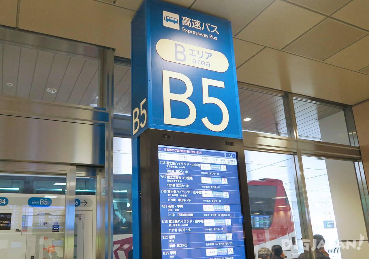 Shinjuku Expressway Bus Terminal8