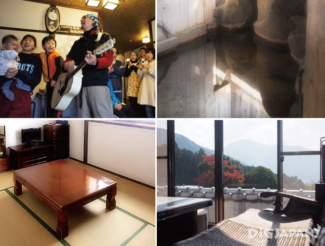 Yufuin Country Road Hostel rooms facilities activities