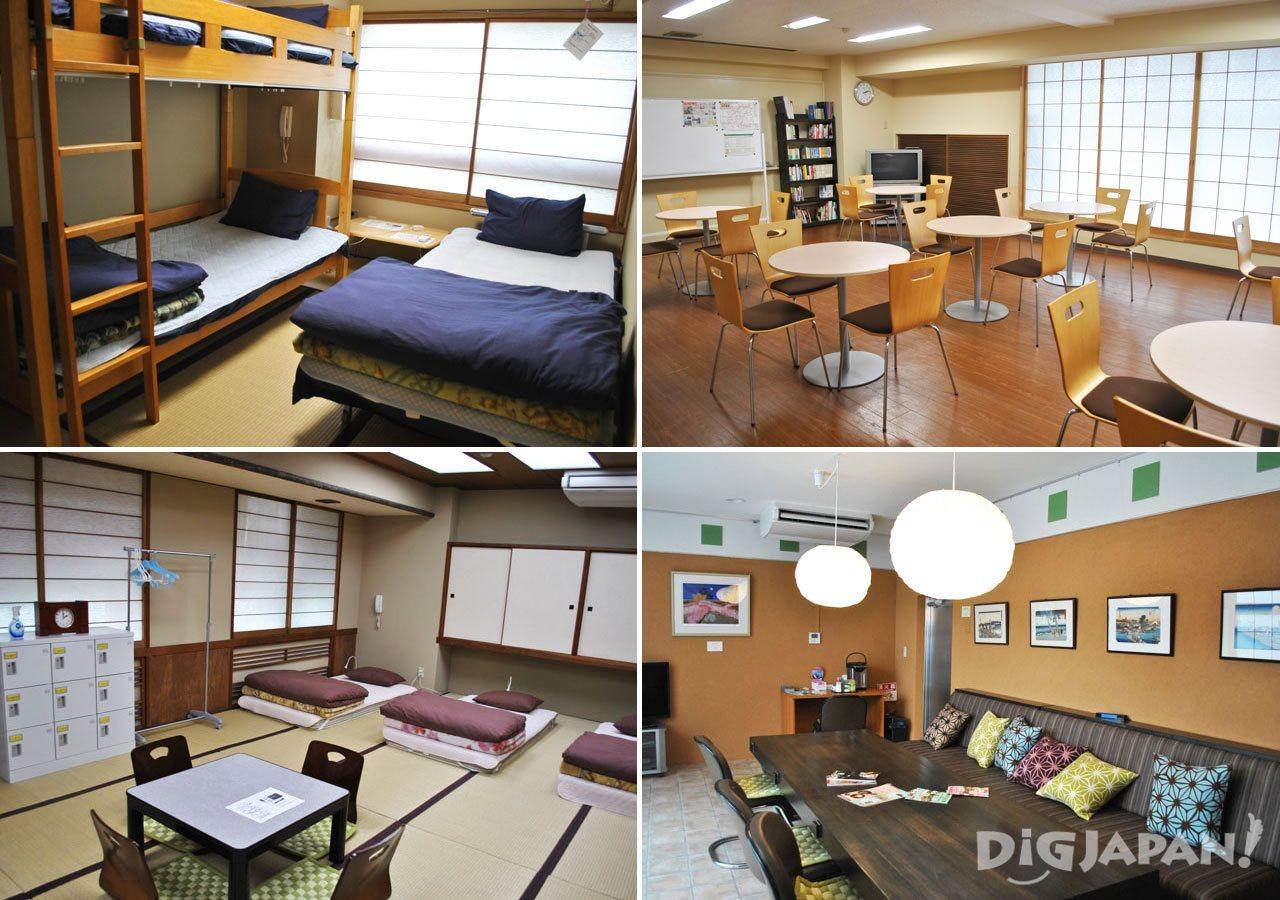 Tokyo Sumidagawa Youth Hostel rooms and facility