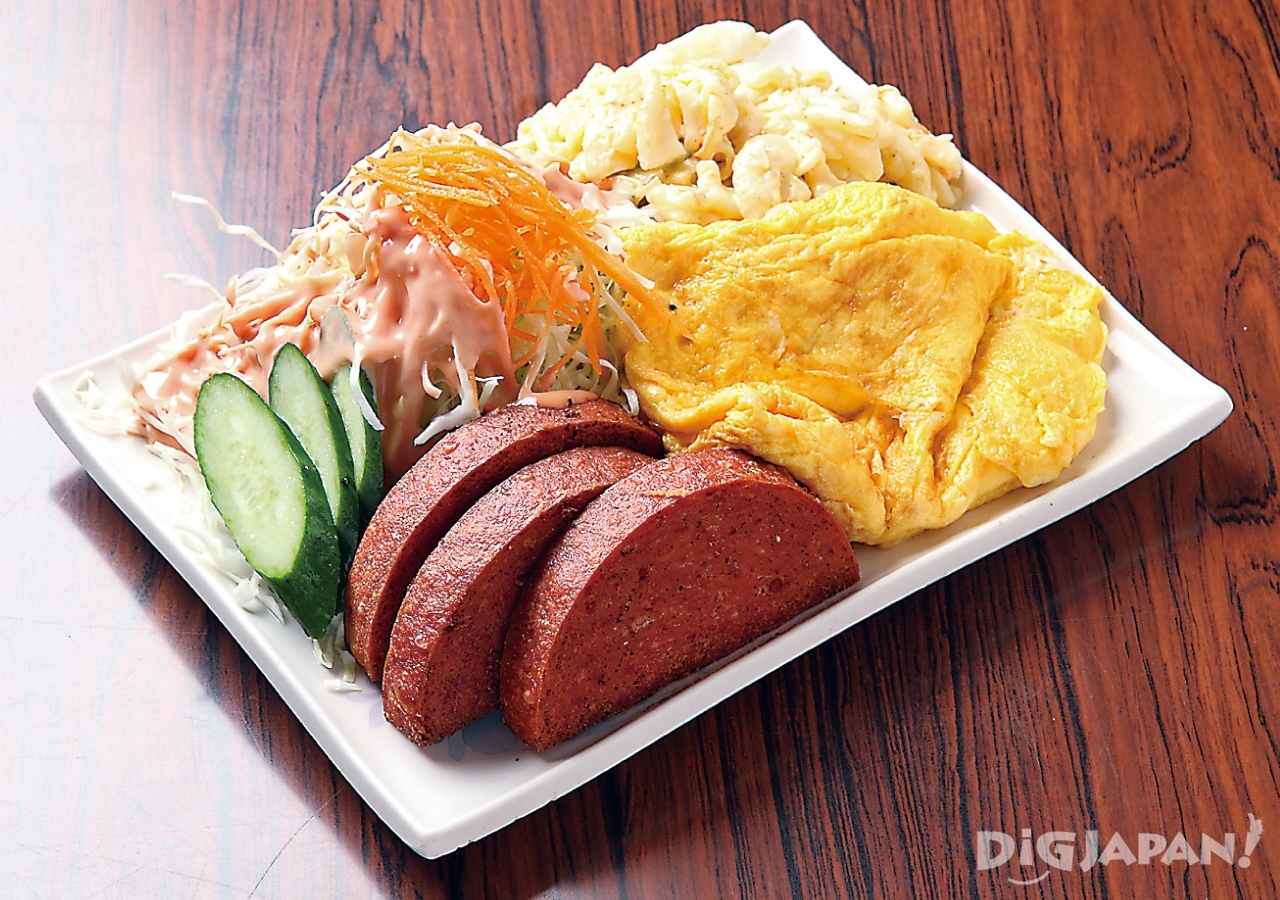 오키나와 현지 음식 로컬푸드 포크타마고