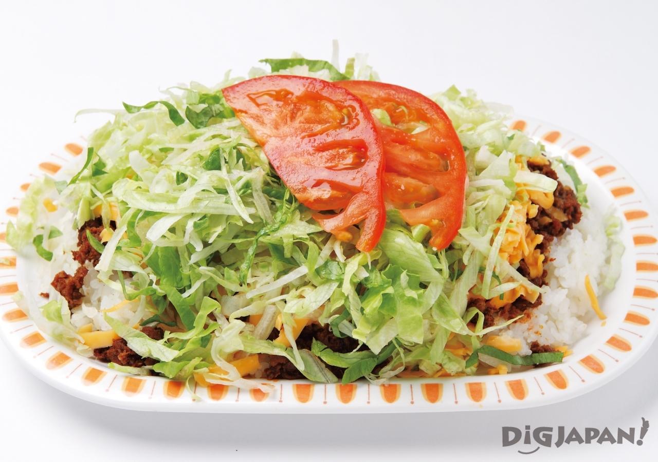오키나와 현지 음식 로컬푸드 타코라이스