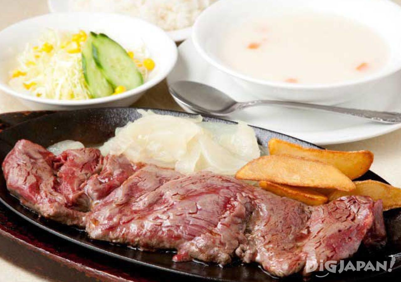오키나와 현지 음식 로컬푸드 오키나와 스테이크