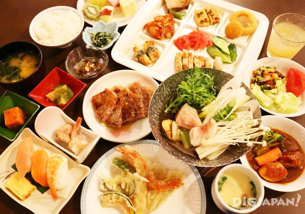岡田飯店-自助餐-1
