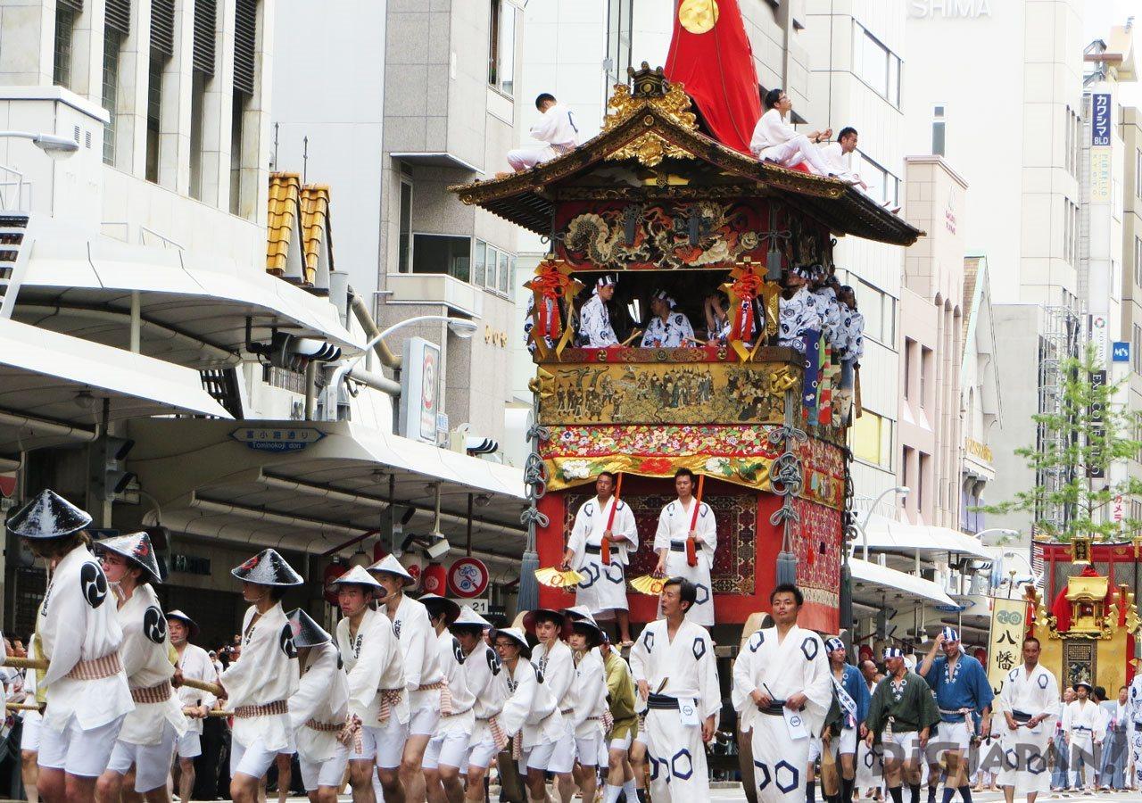 Summer Festival Gion Matsuri Kyoto