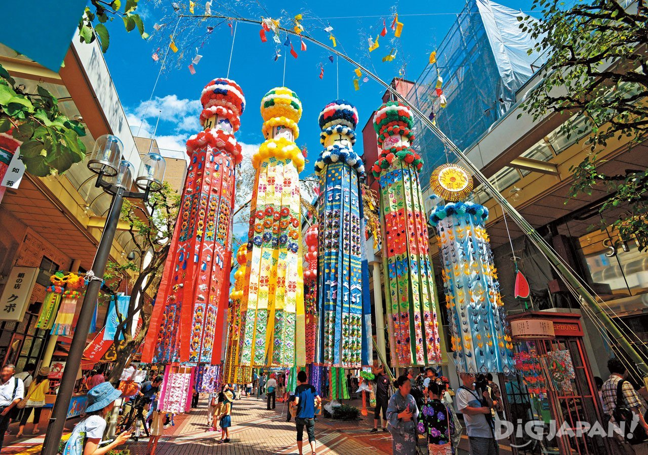 센다이 타나바타 칠석 축제 1