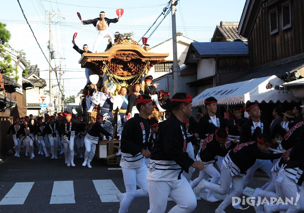 오사카 키시와다 단지리 축제 2