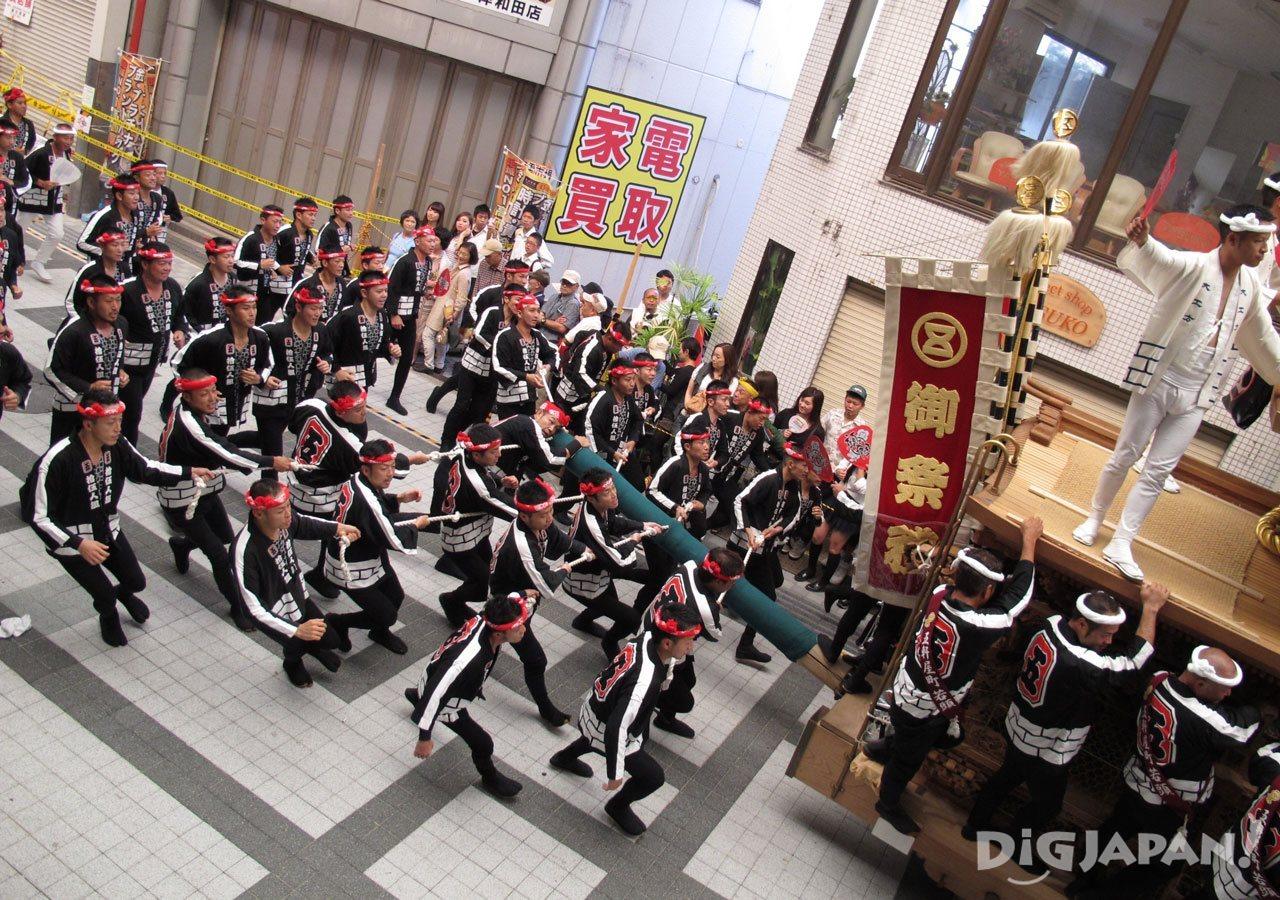 오사카 키시와다 단지리 축제 3