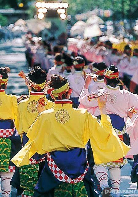 요사코이 축제 고치현 2