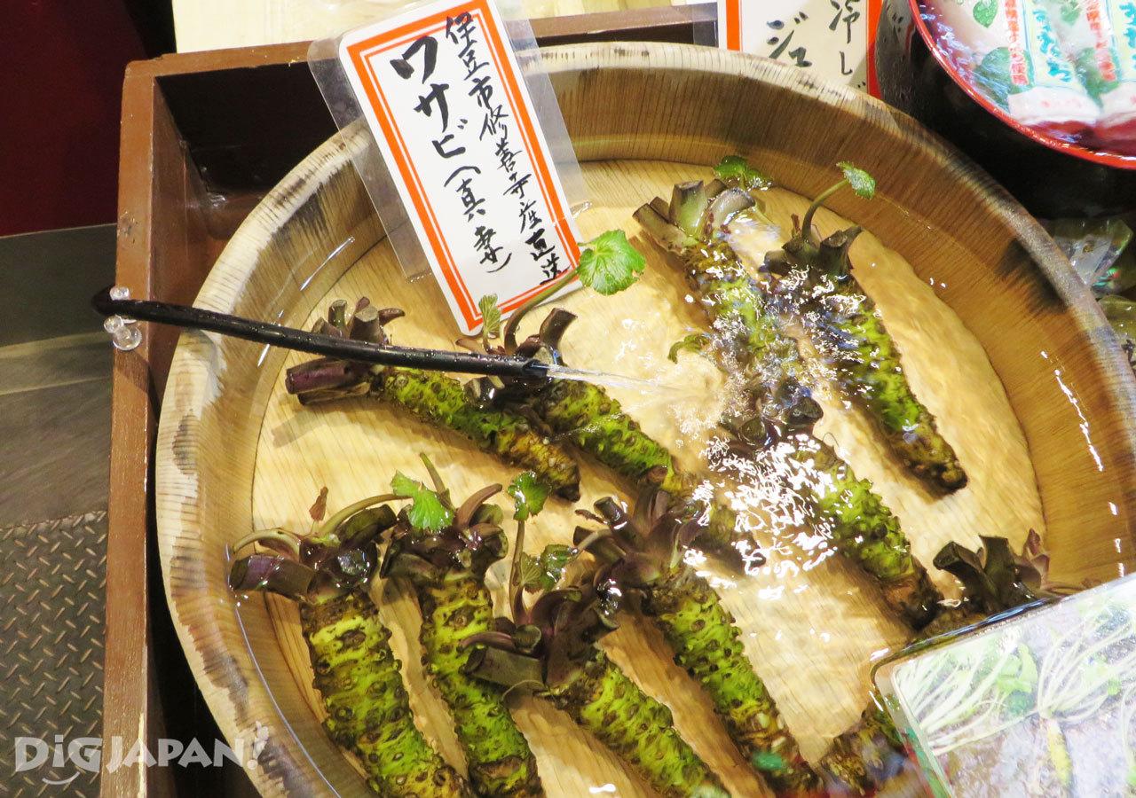 锦市场山葵