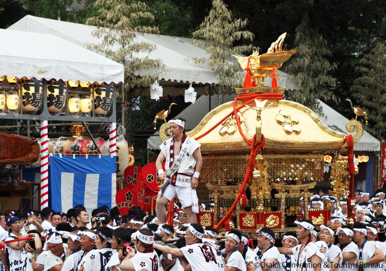 Summer Festival Tenjin Matsuri Osaka