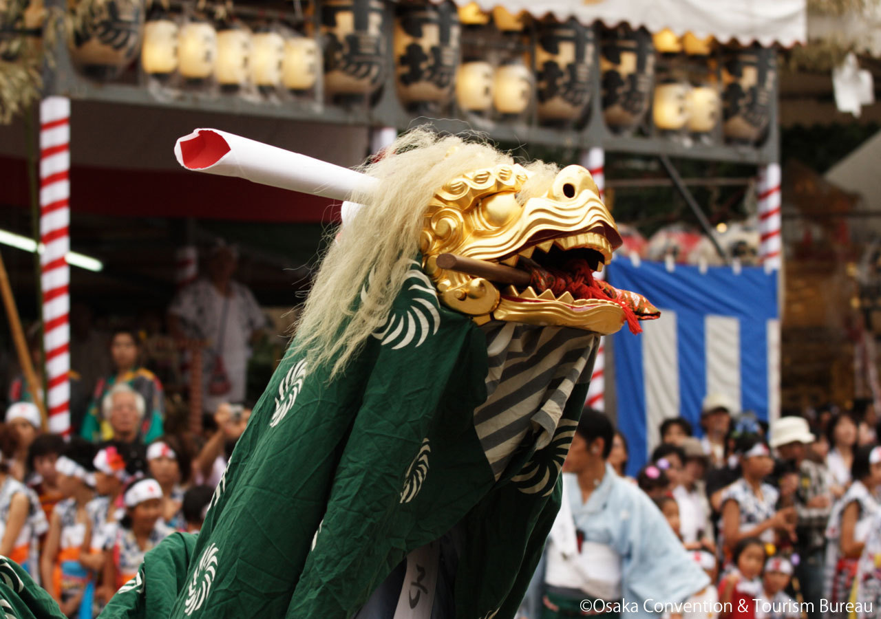 텐진마츠리 오사카 2
