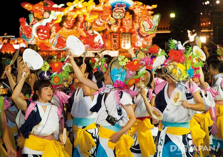 Summertime Festival Japan Aomori Nebuta Matsuri