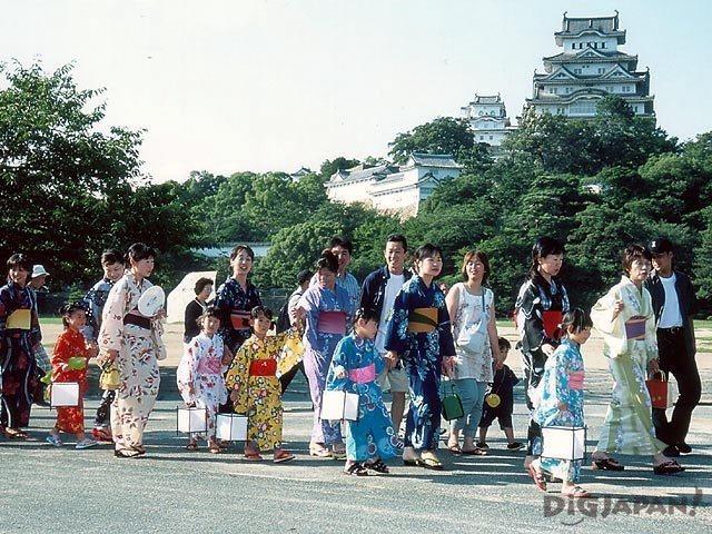 Summer Festival Japan Yukata