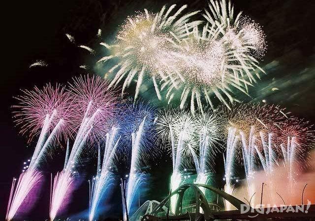 Toyota Oiden Matsuri Fireworks Aichi