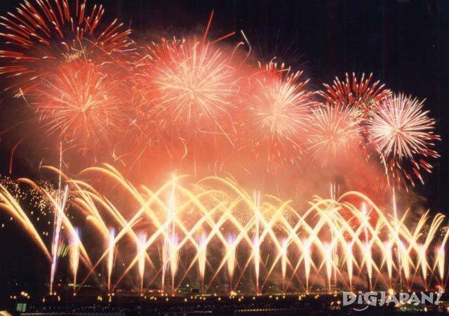 Omagari National Fireworks Competition Akita