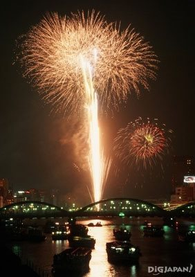Sumidagawa Fireworks Festival Tokyo