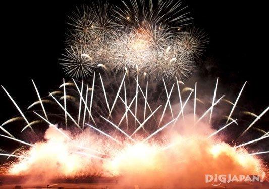 Hokkaido Makomanai Music Fireworks Festival