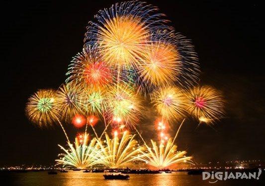 Hiroshima Port Dream Fireworks Festival