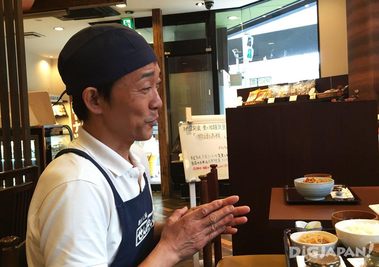 Sendai-ya Ikejiri Ohashi store manager