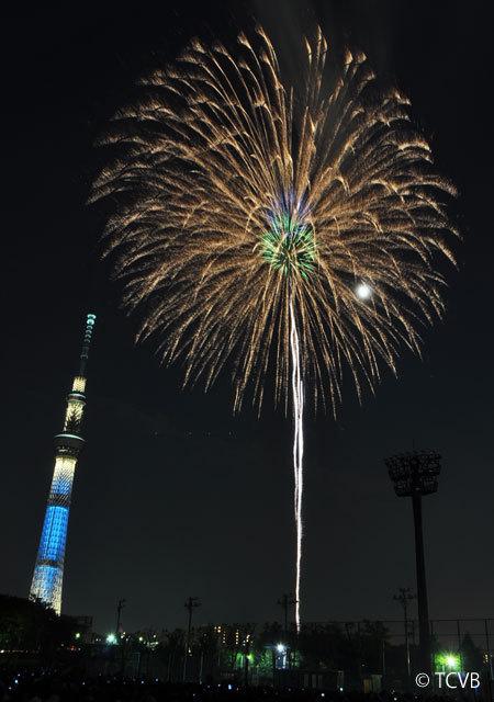 Sumidagawa River Fireworks Festival summer