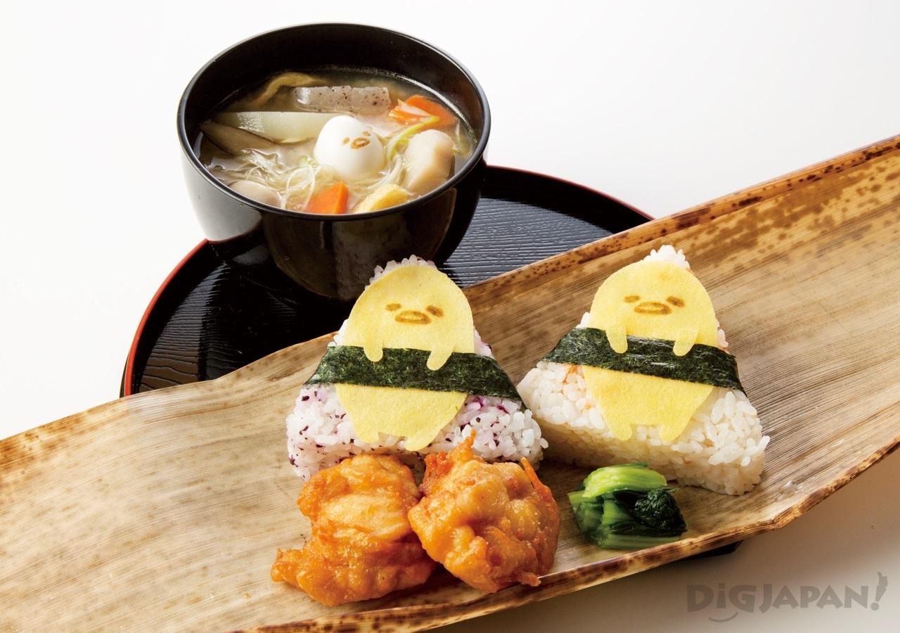 Gudetama Cafe Osaka food 4