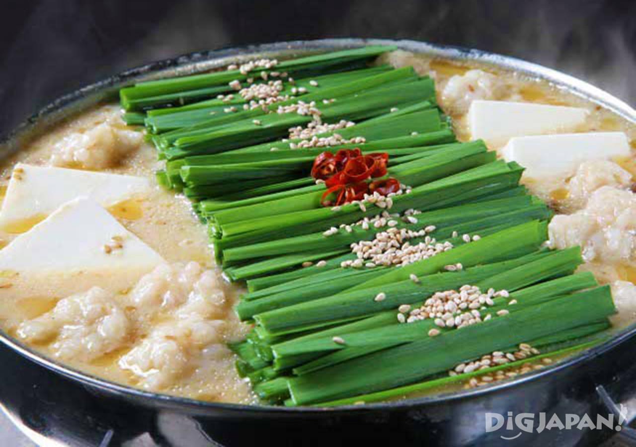 후쿠오카 대표 음식 모츠나베