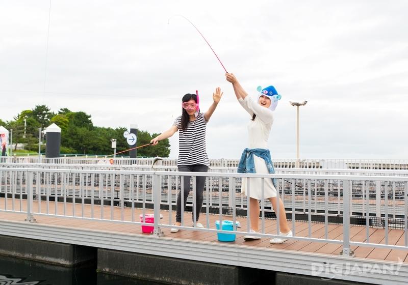 橫濱八景島海島樂園垂釣廣場釣魚