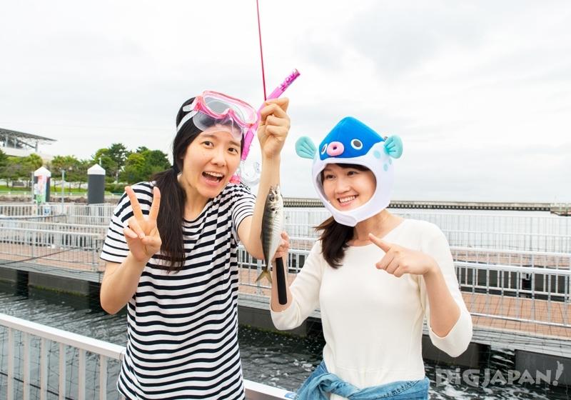 橫濱八景島海島樂園垂釣廣場釣魚-2